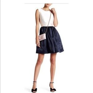 Kate spade swift Organza Fit And Flare Dress